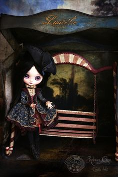 Laurélie From fear to desicion by Rebeca Cano ~ Cookie dolls, soon available https://www.facebook.com/CookieDolls