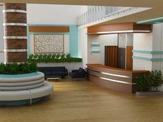 hospital lobby design ideas | Hospital Interior Design on Behance