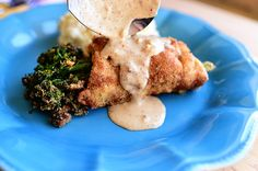 Chicken Broccolini with Mustard Sauce
