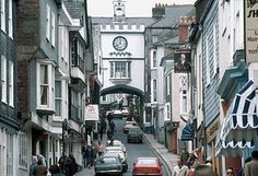 Transition towns (such as Totnes, Devon, UK, shown here)  are grassroots community initiatives seeking to build resilience in response to peak oil, climate destruction, and economic instability. Click image for details and visit the Slow Ottawa 'Consume Less' board for more sustainable thinking.
