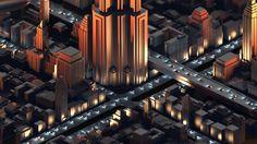 Capstone City by Tomasz Artur Bolek | Architecture | 3D | CGSociety