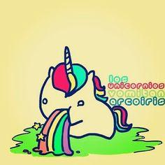 unicornio vomitando arcoiris - Buscar con Google