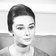 Rare Audrey Hepburn — * Audrey Hepburn interviewed in Brussels by Selim...