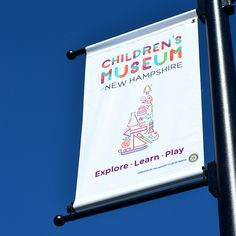 Haigh and Martino (or HAM) is an award winning graphic design and branding studio in Portsmouth, New Hampshire. Museum Identity, Kids Poster, Programming For Kids, Play To Learn, Identity Design, Brand Identity, New Hampshire, Sign Design, Signage
