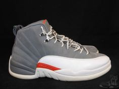 competitive price 25d31 5ffc7 Details about 2012 NIKE AIR JORDAN XII 12 RETRO COOL GREY WHITE ORANGE  WINGS OG 130690-012 11