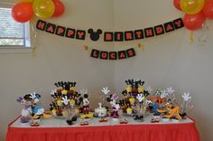 mickey mouse birthday party-and-shower-ideas
