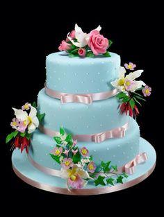 Tartas de boda - Wedding Cake - How to decorate your own vintage wedding cake