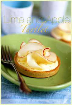 Lime mousse and Apple Tartlet | Or what to do with pastry an… | Flickr