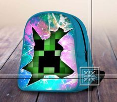 Colorfull Galaxy Amazing Famous Game - Game Design For Kids School Bag Backpack