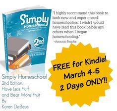 Simply Homeschool 2nd Edition- FREE for 2 Days ONLY!