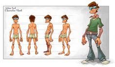 male characters sheet - חיפוש ב-Google