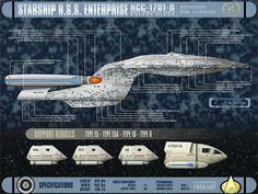 Starship Enterpise NCC 1701D - Free Star Trek Computer Desktop Wallpaper http://www.startrekdesktopwallpaper.com/wallpapers/90_Star_Trek_Enterprise_schematics_NCC1701D_starship_computerdesktop_wallpaper_l.shtml#