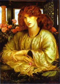 La donna della finestra (Dante Gabriel Rosseti)