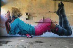 20 стрит-арт-работ на грани искусства и хулиганства - Александр Беленький. Необычные путешествия
