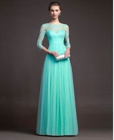 Women Long Sexy Evening Party Gown Formal Bridesmaid Cocktail Lace Splice Dress  Dress Long 287a88a71204