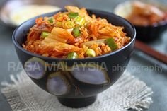 Kimchi fried rice is a popular Korean recipe. Easy kimchi fried rice recipe that calls for three simple ingredients: kimchi, rice, and egg.