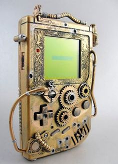 Steampunk gameboy?!