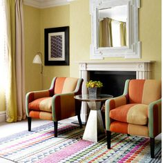 Charlotte Street Hotel, London. Find more interiors inspiration at http://www.redonline.co.uk/interiors