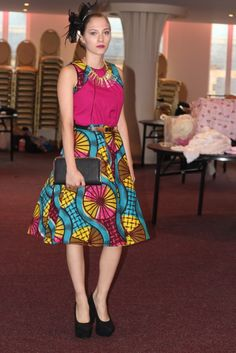 high low african print dresses - Google Search