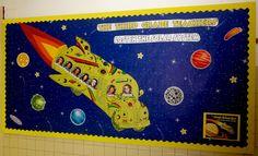 Magic School Bus Welcome Bulletin Board