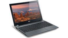 """Acer C7 C710-2847 Chromebook 11.6"""" Intel Dual Core B847 1.1 GHz 2GB DDR3 320GB 5400RPM HDD Wifi HDMI USB3.0 VGA Card Reader by Acer, http://www.amazon.com/dp/B00AG0BLWU/ref=cm_sw_r_pi_dp_hlQWrb1SYQFTX"""