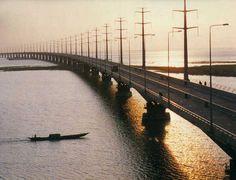 Jamuna Bridge of Bangladesh, South Asia