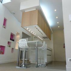 1000 id es sur faux plafond cuisine sur pinterest - Eclairage faux plafond cuisine ...