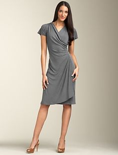this dress from Talbots is such a classic look. $129