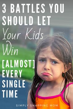 You just can't fight every single battle your kid engages you in. It's not not physically possible. That is why I have these standard 3 battles that I let my kids win every single time. Good news is: I am actually winning here to. Parenting Toddlers, Kids And Parenting, Parenting Hacks, Writing Prompts For Kids, Kids Writing, New Parents, Happy Kids, Raising Kids, Kids Education