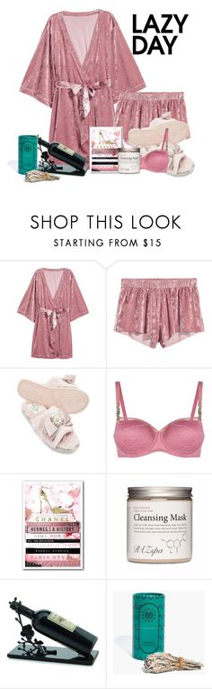 """""""Untitled #224"""" by immyowndoll ❤ liked on Polyvore featuring Pretty You London, Marlies Dekkers, Oliver Gal Artist Co., Michael Aram and Madewell"""