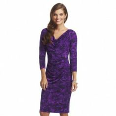 Chaps Floral Empire Dress (Kohl's, $66)