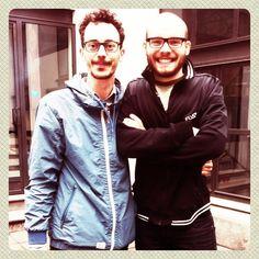 ArtGeek+ArtGeek=GEEKART (Alessandro e Michele)