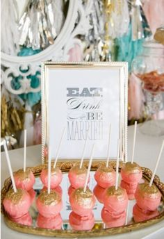This is awesome for a bridal shower ;)