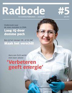 Radbode 5, 2014 https://www.radboudumc.nl/OverhetRadboudumc/Publicaties/Radbode/Documents/Radbode_5_2014.pdf