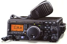 BEST PORTABLE HAM:  Yaesu FT-897D // Reasonably compact with internal batteries allow a self contained system. .  A feature rich  radio with accessible controls  makes the 897D  a fine  choice for vehicle or camp setup.