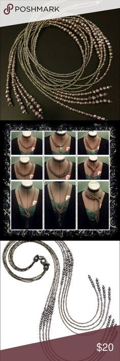 Premier Jewelry Modern twist Necklace Premier Jewelry Modern twist Necklace ! Great Condition!! Premier Designs Jewelry Necklaces
