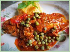 Pollo Alla Cacciatora (Poulet Chasseur) / Chicken Cacciatore /  Pollo a la Cazadora