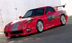 1993 Mazda RX-7 - The Fast and the Furious (2001)