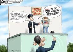 Obama Hostage Ransom