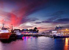 Fishing Boat Harbour, Fremantle, Western Australia.