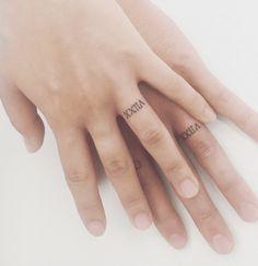 Wedding ring pictures, wedding finger tattoos, wedding ring tattoo for men, Wedding Finger Tattoos, Wedding Band Tattoo, Wedding Ring Tattoo Ideas Fingers, Tattoo Ring Finger, Couple Ring Finger Tattoos, Wedding Date Tattoos, Wedding Rings Simple, Custom Wedding Rings, Couple Tattoos