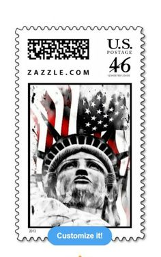 Patriotic Statue of Liberty Postage at: http://www.zazzle.com/thisland