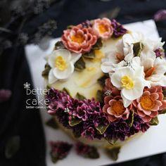 Done by my student from Malaysia  - Buttercream + Beanpaste flower cake (베러 전문가반/Professional class) www.better-cakes.com Plz contact me through LINE or Email. Mailbettercakes@naver.com Linebetter_cake FacebookBetter Cake Kakaotalkbettercake  #buttercream#cake#베이킹#baking#bettercake#like#버터크림케익#베러케이크#cupcake#flower#꽃#sweet#플라워케이크#koreabuttercream#wilton#앙금플라워#디저트#buttercreamcake#dessert#버터크림플라워케이크#flowercake follow#떡케익#koreancake#beautiful#윌튼#instacake#꽃스타그램#앙금플라워떡케익#insta...