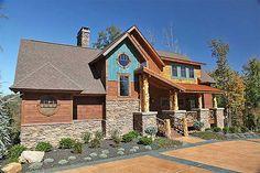 House Plan 8504 00006 Mountain Rustic Plan 2 622 Square