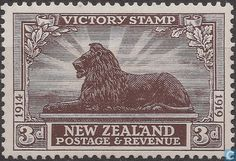Postage Stamps - New Zealand - Victory