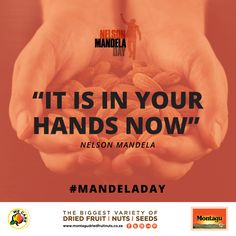 How will you use your 67 minutes today? #MandelaDay #BeTheChange #