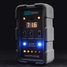 GhostStop Ghost Hunting Equipment - EDI Meter Ghost Hunting Device with EMF, thermometer and geophone vibration