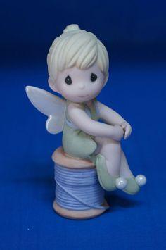 Tinker Bell You're Pretty as Pixie Disney Precious Moments 2010 Figurine 990011 #PreciousMoments