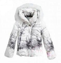Vendre Pas cher Doudoune moncler femme avec chapeau blanc Mantel, Fox Fur,  New York 3b1a7c682f1