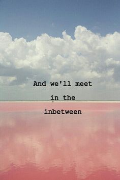 somewhere inbetween